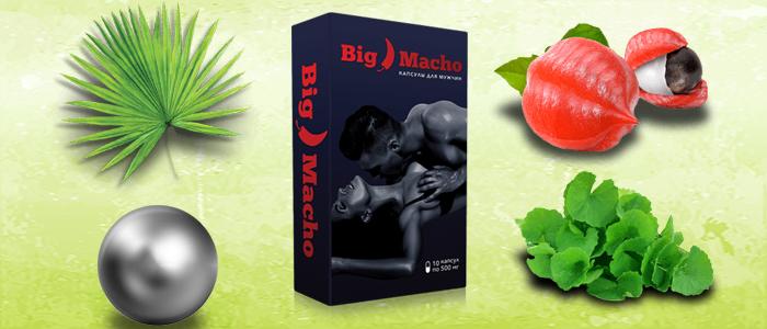 BigMacho капсулы для потенции состав